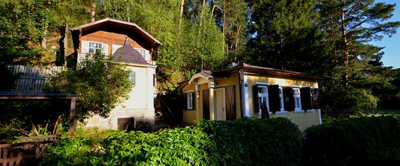 prvorepubliková chata Letná
